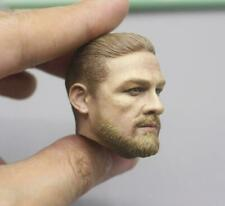 """1/6 scale Charlie Hunnam US Seal Marines head sculpt 12"""" HT Male Action"""