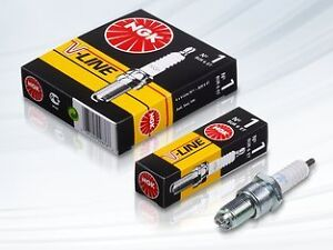 4 bougies BP6E NGK V-LINE 4 FIAT 1500-2300 1500 L 75 CH