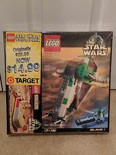 LEGO Star Wars 2 Pack SLAVE I 7144 & LANDSPEEDER 7110 Rare Sealed Set Boba Fett