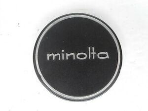 #4 Minolta 57mm Slip On Front Camera Lens Cap For 55mm Filter Ring MC / MD / SR