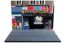 Diorama rue de Zagreb - 1/43ème - #43-2-B-B-044