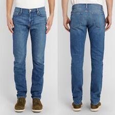 FRAME Jeans L'Homme Denim Mens Size 32 Chesil Slim Fit Blue Wash