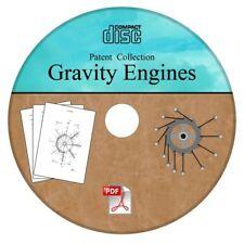 Gravity Engine Motor Generator Patent Collection Free Energy 20 Patents on CD