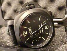 """Nuevo Marina Militare 50mm modificada """"ecuación de tiempo 'Auto PAM 36500 Reloj homenaje"""