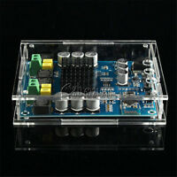 DIY TPA3116D2 120Wx2 Digital Bluetooth 4.0 Audio Receiver Amplifier Acrylic Case