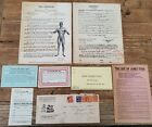 Antique Weight Lifting James Todd letter to Andrew Jackson Barbell