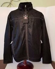 NEW Black Stormtech Performance Size XL Outback Bomber Leather Jacket, Size XL
