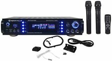 Rockville RPA7000UWM 1000w Home Theater Receiver w/Tuner/USB/Mixer + 2 VHF Mics