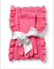New York & Company Ruffle Scarf & Gloves Set