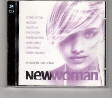 (HP236) New Woman, 39 tracks various artists - 2001 double CD