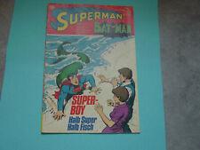 Superman Comicheft, Nr. 21 , von 1973, alt, selten !