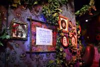 Haunted Mansion Tomb Sweet Tomb prop replica FULL SIZE canvas Disneyland Disney