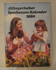 ++ Altbayerischer Sparkassen-Kalender - 1980 - Ein Wegbegleiter..... ++Hhj