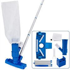 Pool Reinigungsset Bodensauger Auffangsack und Stange Vakuum Pflege Reinigung