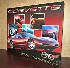 Chevrolet Chevy Corvette Body Style Sports Car Automobile Metal Poster Picture