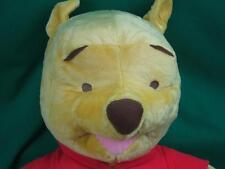 Big Jumbo Fisher-Price Winnie The Pooh Teddy Bear Redshirt Knit Eyes Plush Hugs