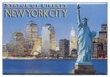 "NEW YORK CITY STATUE OF LIBERTY FRIDGE COLLECTOR'S SOUVENIR MAGNET 2.5"" X 3.5"""
