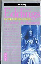 DAVID EDDINGS - la trilogie des joyaux T1 - le trone de diamant - pocket