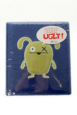 UGLYDOLL Hey Ugly! $18 Hello My Name OX Plush Cool Blue Journal New Rare Sealed