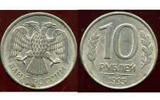 RUSSIE   10 roubles 1993