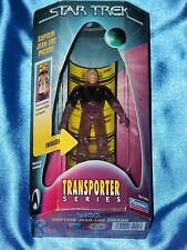 "STAR TREK: CAPT JEAN-LUC PICARD-Transporter-4.5"" Figure with Lights & Sounds!"