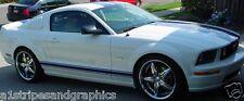 2005 2006 2008 2009 2010 2012 2013 Mustang Plain Rocker stripes Stripe Graphics
