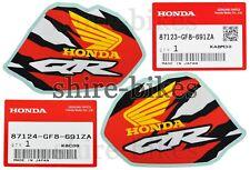 NEW GENUINE Honda Tank Decals Stickers (Pair) Honda QR50 QR 50