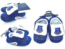 Everton Fc Babies Blue Football Club Boots Booties Baby Slippers Pram Shoes Efc
