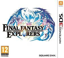 Juego final Fantasy Explorers Nintendo 3DS