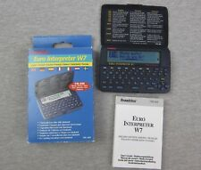 Franklin Euro Interpreter W7 Tre-400 7 Language Translator w/ databank