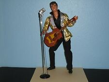 BARBIE Loves ELVIS PRESLEY De-Boxed KEN DOLL Fully ARTICULATED Guitar Microphone