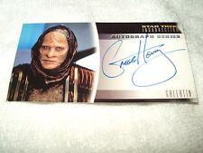 Star Trek Autograph Card Movies Insurrection Gregg Henry as Gallatin A11