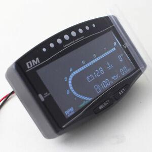 Truck Car Digital 5In1 Fuel Oil Pressure Gauge Water Temperature Tachometer Kits