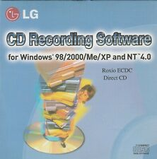 LG CD Recording Software by Roxio