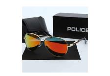 Original Police Sunglasses Orange Lense Unisex polarizing with Police Case