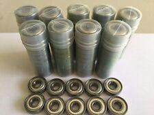100 pcs 608 ZZ metal shielded ball bearing, 8x 22x 7 mm