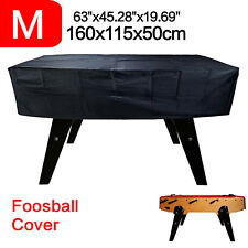 Waterproof Foosball Table Cover Billiard Outdoor Dust Snow Protect Elastic Band