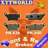 Front Rear Brake Pads Honda CB500 CB 500 V/W/SW/X/SX/Y