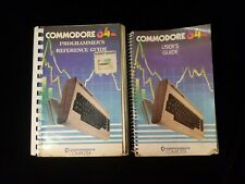 1983 Commodore 64 Users Guide Programmer's Reference VIC20 computer