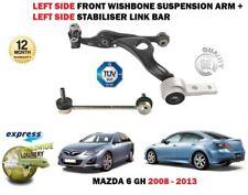 Per Mazda 6 tutti i 2008-2013 BRACCIO SINISTRO SOSPENSIONE BRACCIO OSCILLANTE + BARRA stabilizzatore collegamento Set