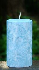 200hr BLUE IRIS LAVENDER Luxury Scented Eco Conscious CANDLE with Cotton Wicks