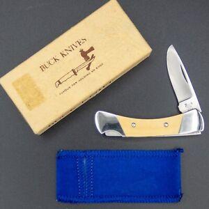 1979 BUCK USA Pocket Knife 506 LADY BUCK Small Lockback MINT w/ Box, Purse Pouch