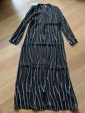 New With Tags Marni Brown/Black/White  Long Dress  Size 8
