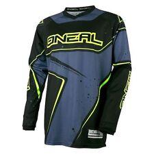 ONEAL Elemento Motocross MX Jersey conducente SHIRT S GIALLO NEON NERO FLUO
