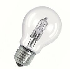 2 x Osram 46W HALOGEN GLOBES B22D 630lm Clear WARM WHITE Bulb, Dimmable SCREW