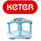 Keter Baby Bath Seat Ring Safety Anti Slip Infant Tub Chair BLUE FAST SHIPPING!