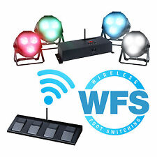 KAM LED PARKIT WFS DMX UPLIGHTING WIRELESS FOOT LIGHTING PACKAGE KIT