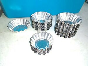 Over 30 Metal tart candy molds Party Decor