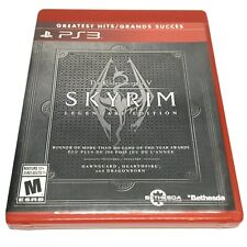 The Elder Scrolls V Skyrim Legendary Edition (Sony PlayStation 3, 2013) Complete