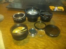 Lot Of Cameras Lenses and conversion lenses